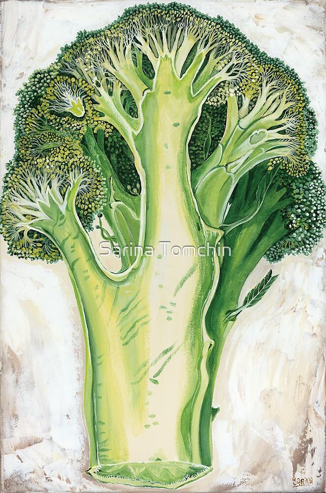 Broccoli by Sarina Tomchin