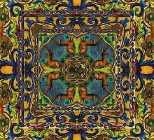 Medieval kaleidoscope 2 by bloomingvine