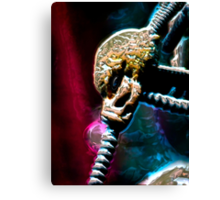 ©DA AS Alien Metal V2. Canvas Print