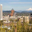 Portland Skyline by Christopher  Boswell