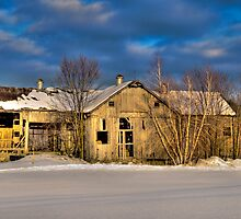 Morning Barn by Dennis Barr