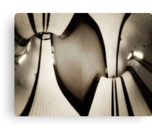 Archway Tube Station Canvas Print