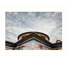 Arnos Grove Tube Station Art Print