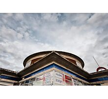 Arnos Grove Tube Station Photographic Print
