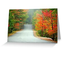 Road to Zephyr Lake Greeting Card