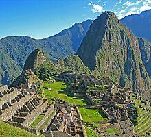Machu Picchu, Peru by vadim19