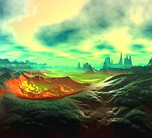 Dream Landscape by AlienVisitor