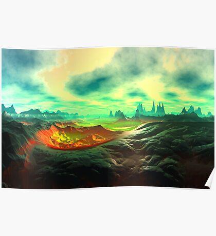 Dream Landscape Poster