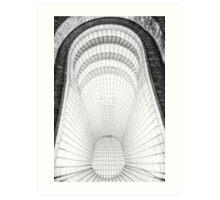 Baker Street Tube Station Art Print