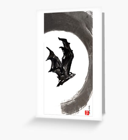 Bat Greeting Card