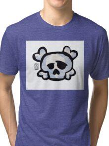 Skull Love Tri-blend T-Shirt