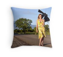 Left out in the middle of nowhere Throw Pillow