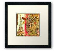 The Crickets of Paris Framed Print