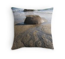 Shoreline Branches Throw Pillow