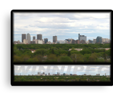 WINNIPEG Canvas Print