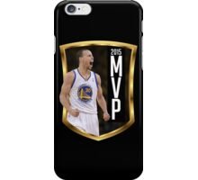 Stephen Curry - 2015 MVP iPhone Case/Skin