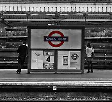 Barons Court Tube Station by AntSmith