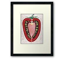 tomato Framed Print