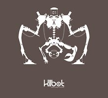 Killbot 01: SnickerSnak Womens Fitted T-Shirt
