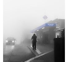 Becontree Tube Station Photographic Print
