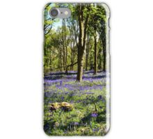 Bluebell Forest iPhone Case/Skin