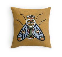 King Fly Throw Pillow
