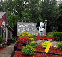 Welcome to Hannibal Missouri   by Jan  Tribe