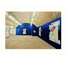 Bond Street Tube Station Art Print