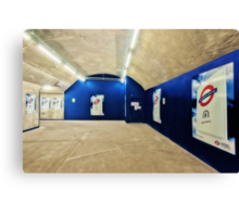 Bond Street Tube Station Canvas Print