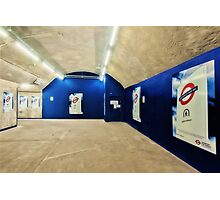 Bond Street Tube Station Photographic Print