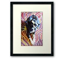Beautiful Betty Framed Print