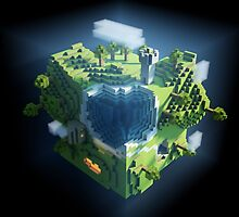 Minecraft world by keichi