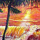 Ocean Sunrise IV by Arobi01