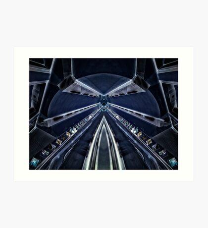 Bounds Green Tube Station Art Print