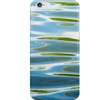 ripples on the water iPhone Case/Skin