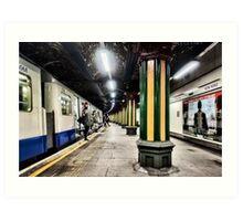 Bow Road Tube Station Art Print