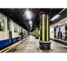Bow Road Tube Station Photographic Print
