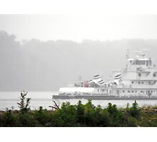 Mark Twain River Boat on the Mississippi Photographic Print