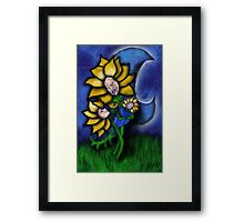 Mother Flower Moon Framed Print