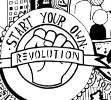Revolutionary Thoughts Sticker