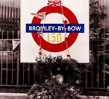 Bromley-By-Bow Tube Station by AntSmith
