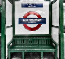 Burnt Oak Tube Station by AntSmith
