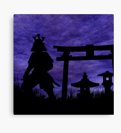 Guardian of the Gate Canvas Print