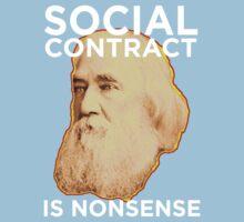 Lysander Spooner Social Contract Kids Clothes
