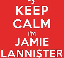 Keep Calm I'm Jamie Lannister (DS) by rachaelroyalty