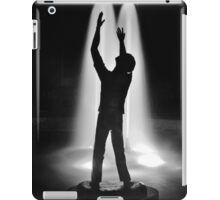 A Very Black and White Person iPad Case/Skin