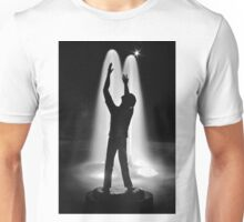 A Very Black and White Person Unisex T-Shirt