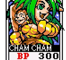 Cham Cham by Lupianwolf
