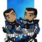 Little ARC Troopers by humansrsuperior