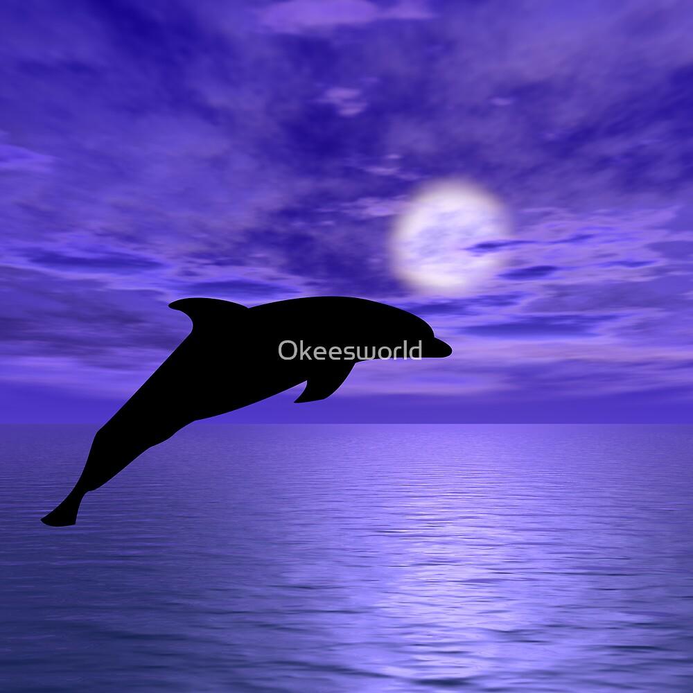 Dolphin Jump 5 by Okeesworld